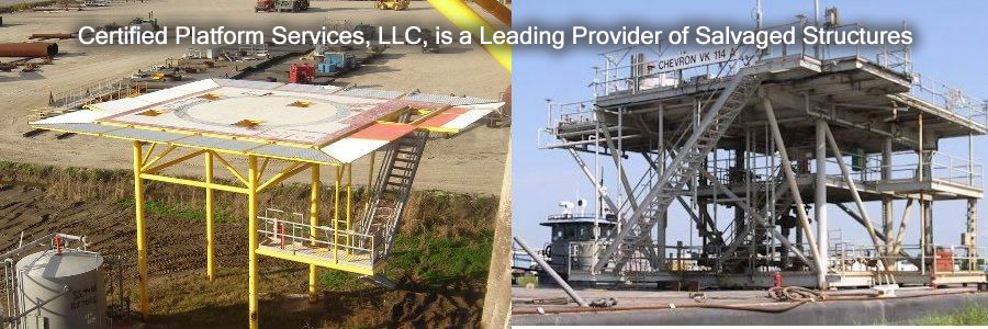 CPS is a Leading Provider of Salvaged Structures.